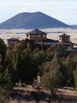 Capulin Volcano and the Mandala Center